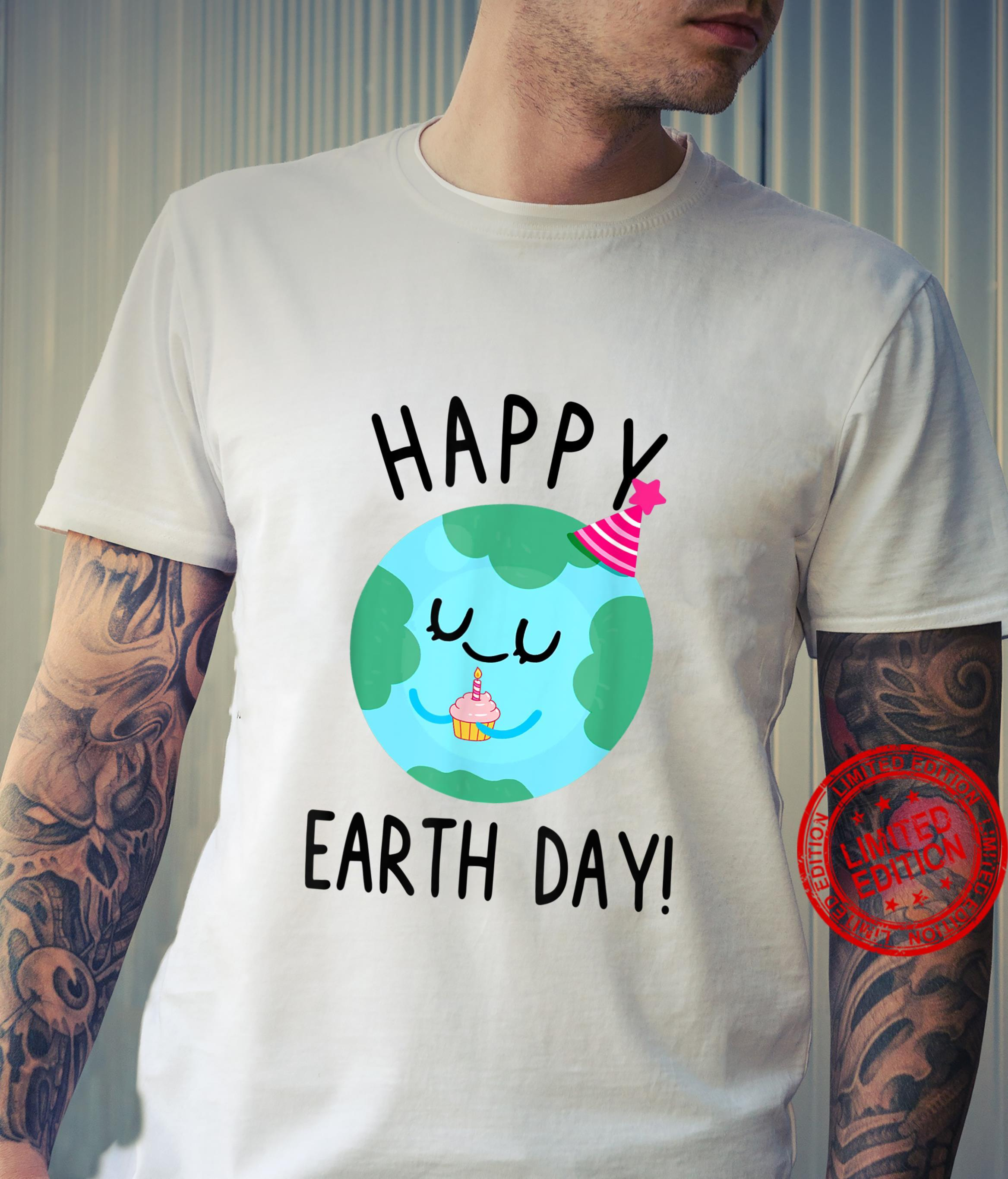 Save The Planet Happy Earth Day Environment Shirt