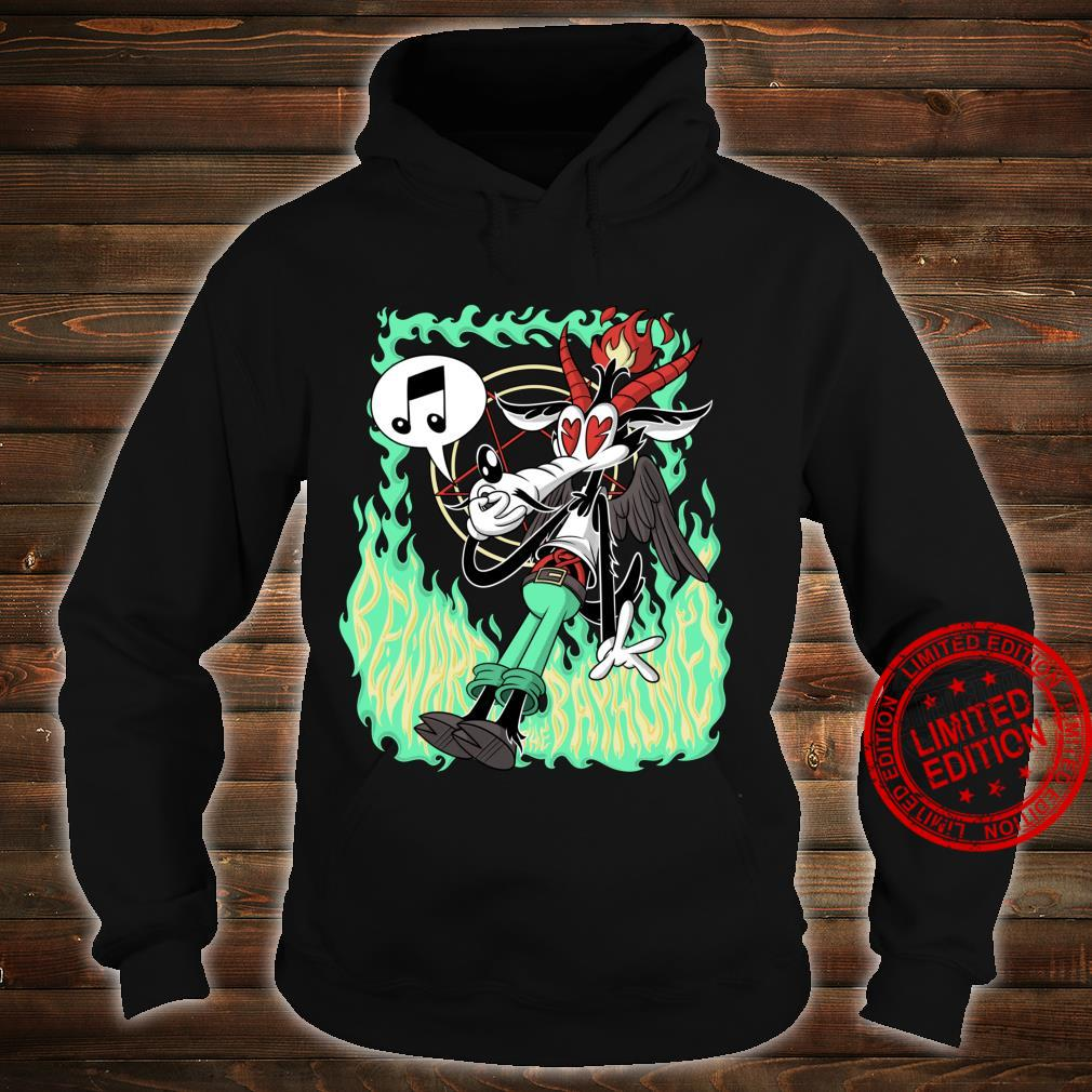 Funny Beware the Baphomet evil Wolf Whistle Hell's Flames Shirt hoodie